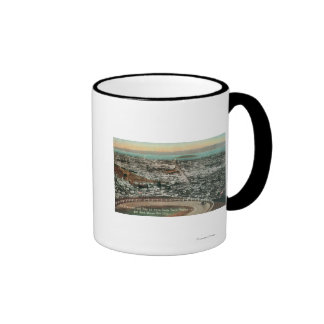 Aerial of the City from the Twin Peaks Mugs