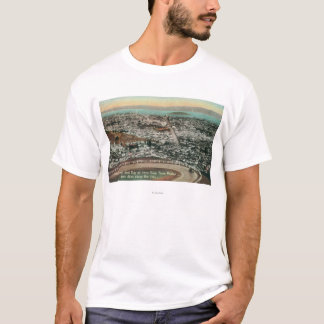Aerial of the City from the Twin Peaks T-Shirt