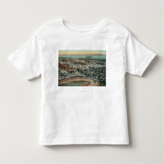 Aerial of the City from the Twin Peaks Toddler T-Shirt
