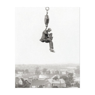 Aerial Photographer, 1925 Gallery Wrapped Canvas