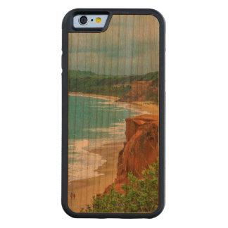 Aerial Seascape Scene Pipa Brazil Carved Cherry iPhone 6 Bumper Case