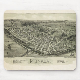 Aerial View if Monaca, Pennsylvania (1900) Mouse Pad