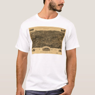Aerial View of Anniston, Alabama (1887) T-Shirt