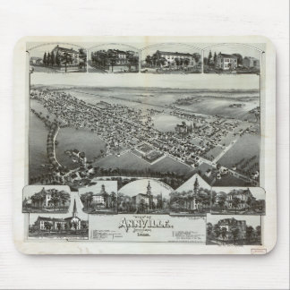 Aerial View of Annville, Pennsylvania (1888) Mouse Pad