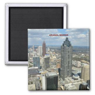 Aerial View of Atlanta, Georgia Magnet