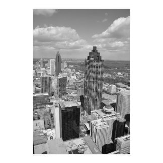 Aerial View of Atlanta, Georgia Photo Art