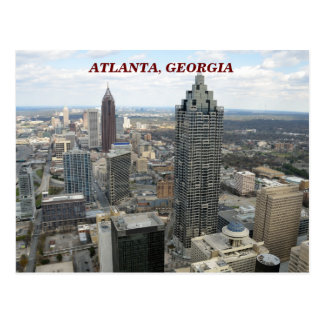 Aerial View of Atlanta, Georgia Postcard