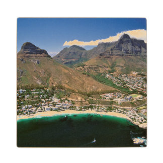 Aerial View Of Atlantic Seaboard Showing Clifton Maple Wood Coaster
