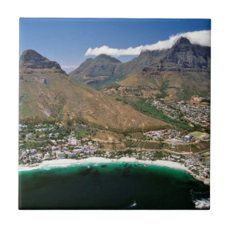 Aerial View Of Atlantic Seaboard Showing Clifton Small Square Tile
