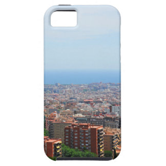 Aerial view of Barcelona, Spain iPhone 5 Cover