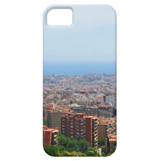 Aerial view of Barcelona, Spain iPhone 5 Covers