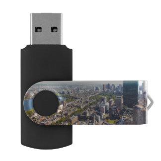 Aerial view of Boston USB Flash Drive