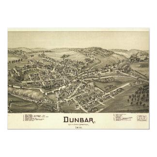 Aerial View of Dunbar, Pennsylvania (1900) Card