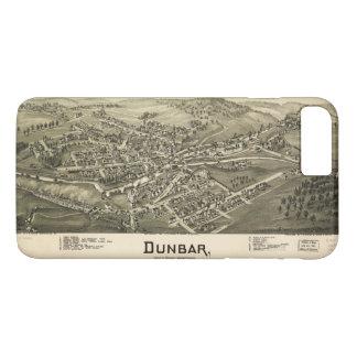 Aerial View of Dunbar, Pennsylvania (1900) iPhone 8 Plus/7 Plus Case