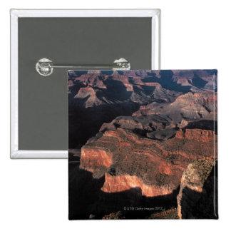 Aerial view of Grand Canyon , Arizona 15 Cm Square Badge