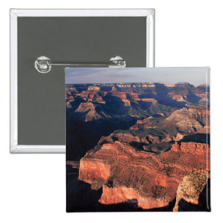 Aerial view of Grand Canyon National Park , 15 Cm Square Badge