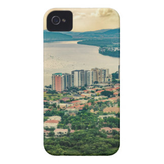 Aerial View of Guayaquil Outskirt from Plane iPhone 4 Covers