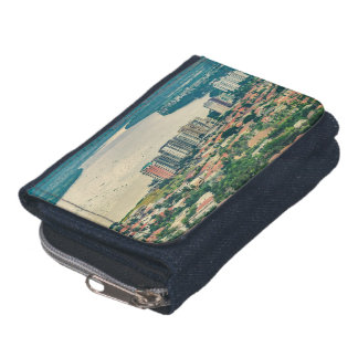 Aerial View of Guayaquil Outskirt from Plane Wallet