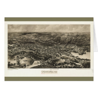 Aerial View of Hopedale, Massachusetts (1899) Card