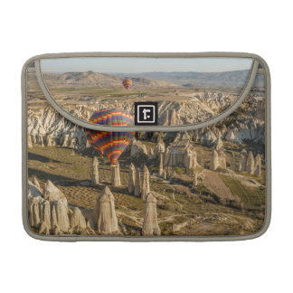 Aerial View Of Hot Air Balloons, Cappadocia 2 Sleeves For MacBooks