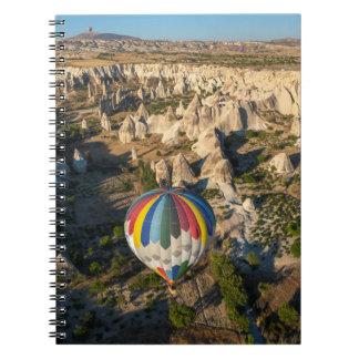 Aerial View Of Hot Air Balloons, Cappadocia Notebooks