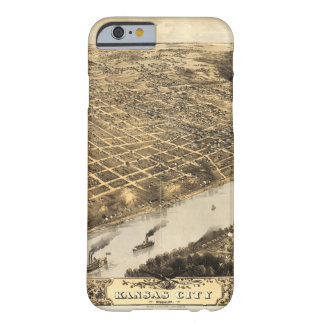 Aerial View of Kansas City, Missouri (1869) Barely There iPhone 6 Case