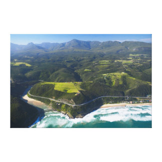 Aerial View Of Keurbooms River, Garden Route Stretched Canvas Prints