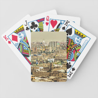 Aerial View of Lima Outskirts, Peru Bicycle Playing Cards