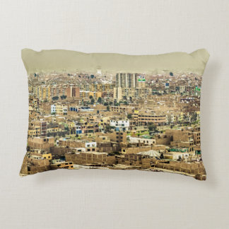 Aerial View of Lima Outskirts, Peru Decorative Cushion