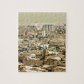 Aerial View of Lima Outskirts, Peru Jigsaw Puzzle