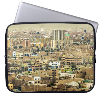 Aerial View of Lima Outskirts, Peru Laptop Sleeve