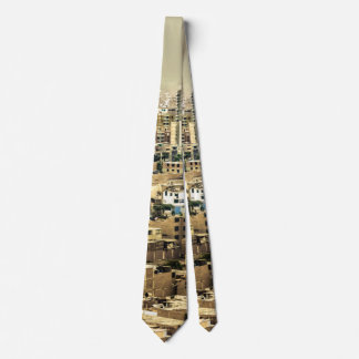Aerial View of Lima Outskirts, Peru Tie