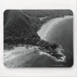Aerial view of Makena Beach, Maui, Hawaii Mouse Pad