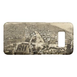 Aerial View of Milwaukee, Wisconsin (1879) Case-Mate Samsung Galaxy S8 Case
