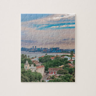 Aerial View of Olinda and Recife Pernambuco Brazil Jigsaw Puzzle