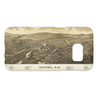 Aerial View of Oxford, New York (1888)