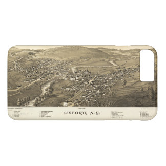 Aerial View of Oxford, New York (1888) iPhone 7 Plus Case