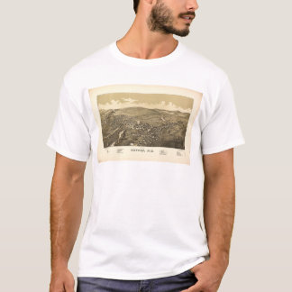 Aerial View of Oxford, New York (1888) T-Shirt