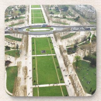 Aerial view of Paris Coasters