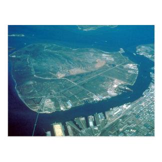 Aerial View of Pelican Island Postcard
