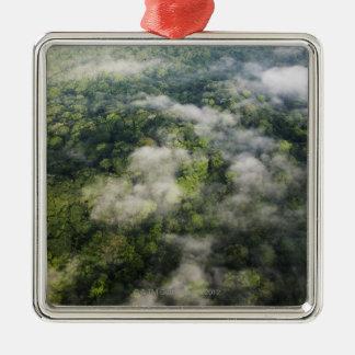 Aerial View of Rainforest, Panama Metal Ornament