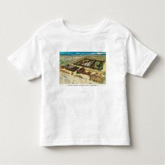 Aerial View of Rickey's Studio Inn Toddler T-Shirt