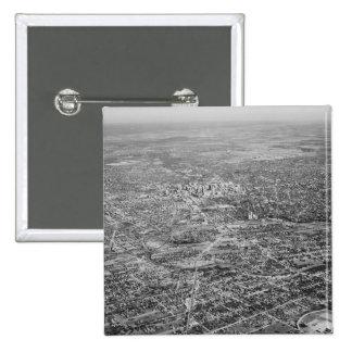 Aerial View of San Antonio 1939 Pinback Button