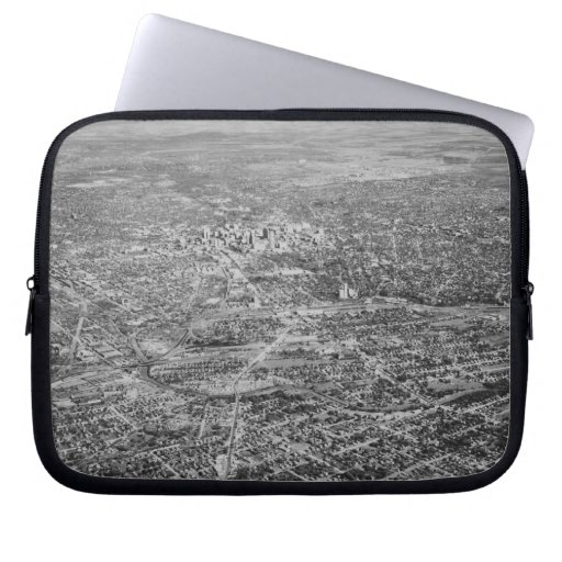 Aerial View of San Antonio, 1939 Laptop Sleeve