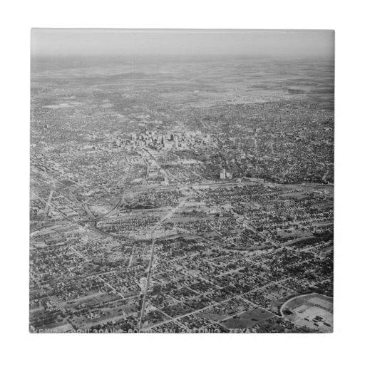 Aerial View of San Antonio, 1939 Tile