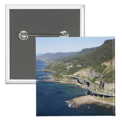 Aerial view of Sea Cliff Bridge near Wollongong, 2 Pins