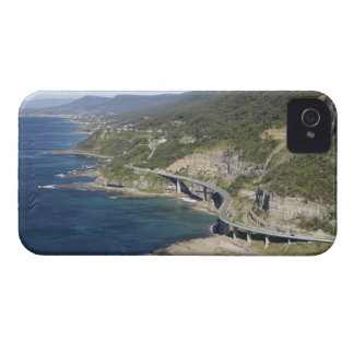 Aerial view of Sea Cliff Bridge near Wollongong, 2 iPhone 4 Case-Mate Cases