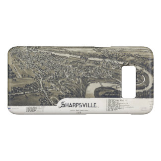 Aerial View of Sharpsville, Pennsylvania (1901) Case-Mate Samsung Galaxy S8 Case