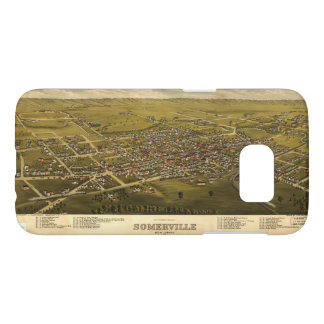 Aerial View of Somerville, New Jersey (1882)