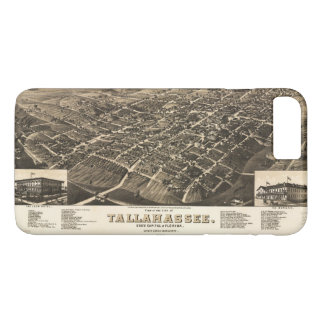Aerial View of Tallahassee, Florida (1885) iPhone 8 Plus/7 Plus Case